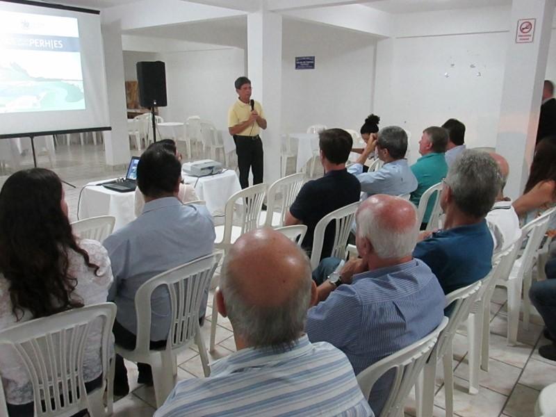05d82262ff PERH ES - Bacia do Benevente participa de Ciclo de Debates do PERH